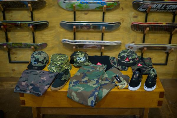 11 Things to Gear Up to Go All Camo for the Skateboard War
