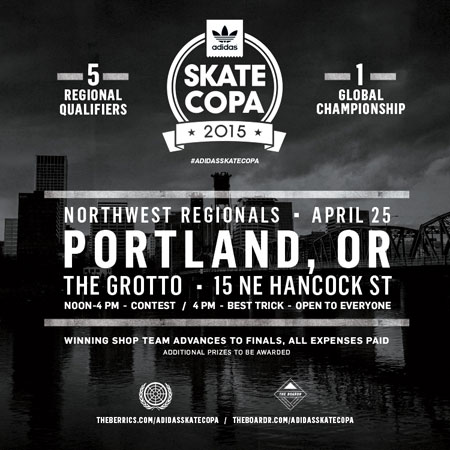 adidas Skate Copa Northwest Regionals at Portland