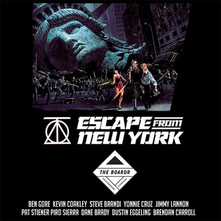 Theories of Atlantis Escape From New York Tour at The Boardr HQ with an Open House Free Skate Session