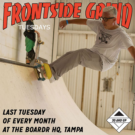 Frontside Grind Tuesdays: Open House Session for 30 and Up