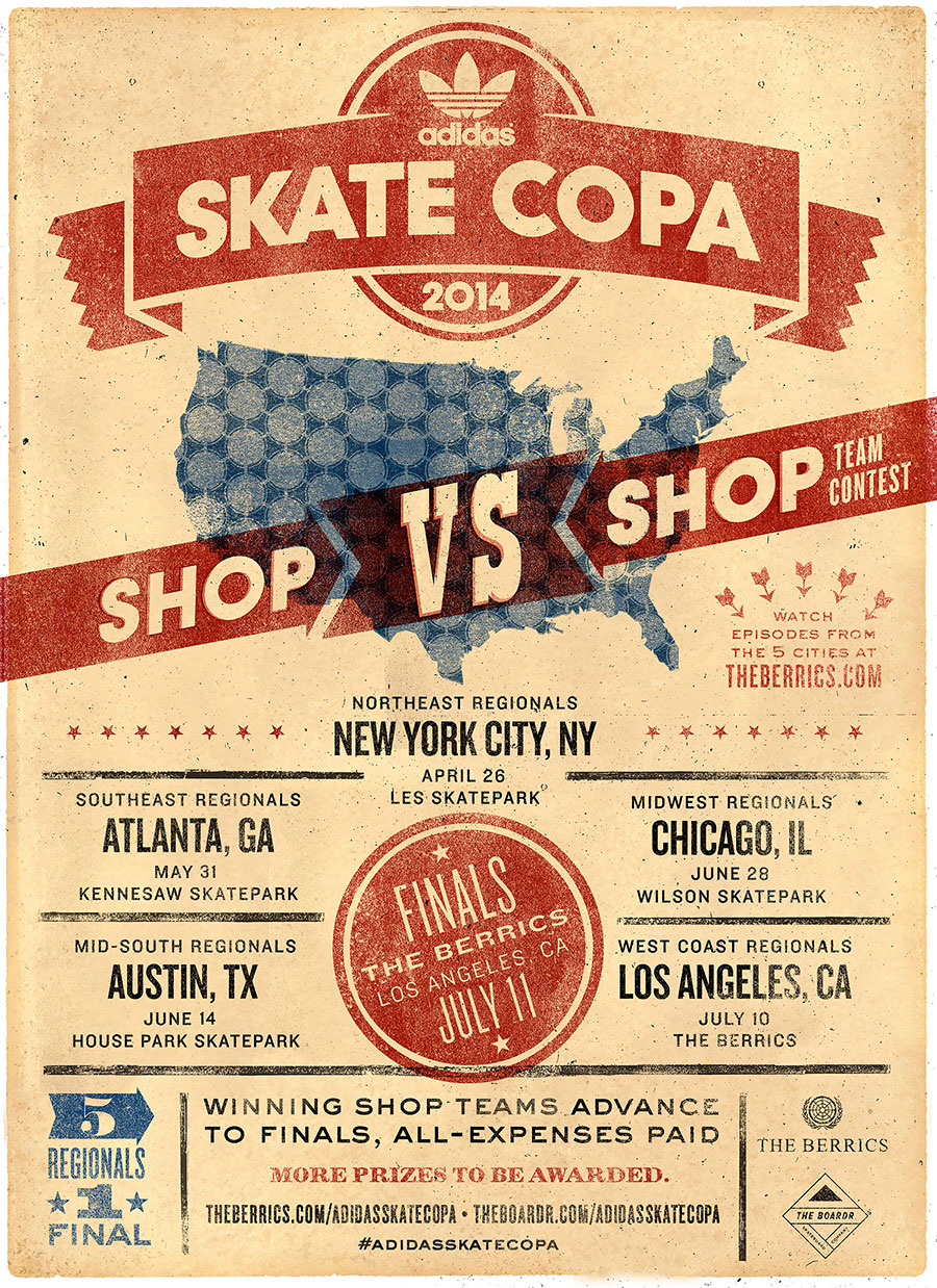 adidas Skate Copa Series and The Boardr