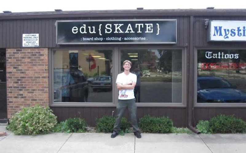 Nate Sherwood's Eduskate Shop