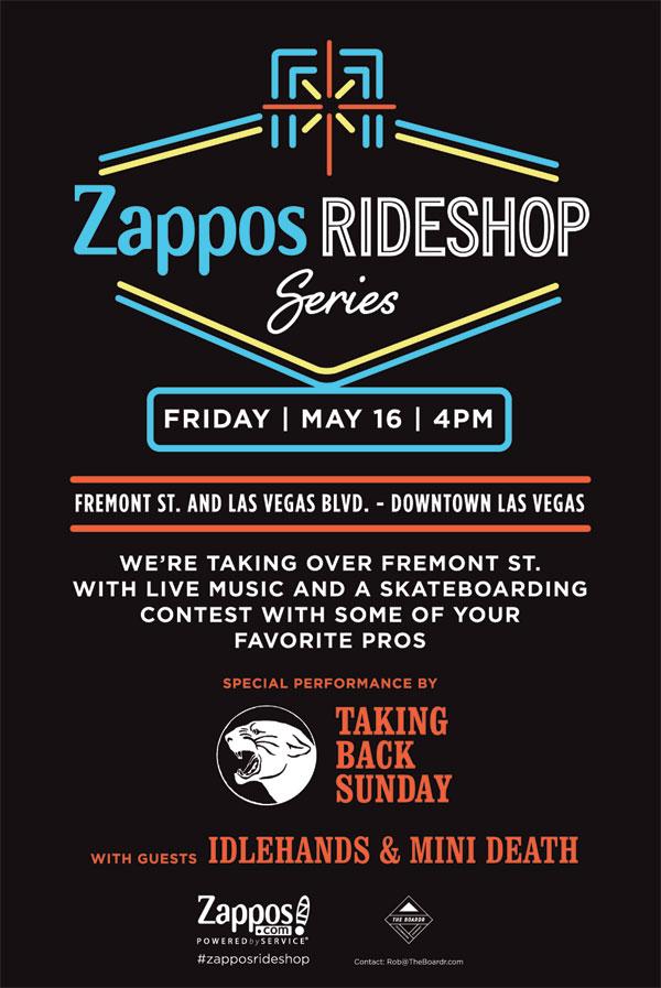 Zappos Rideshop Series Skateboarding Las Vegas