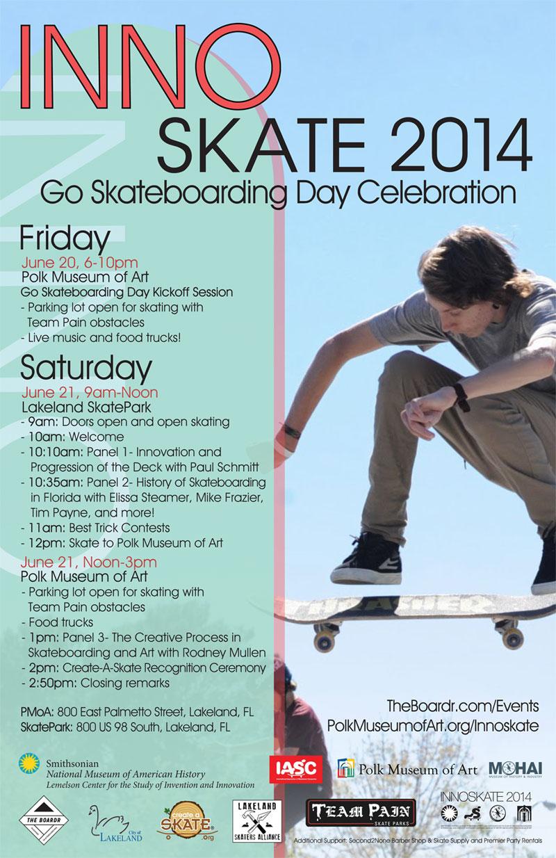 Lakeland Innoskate Skateboarding History