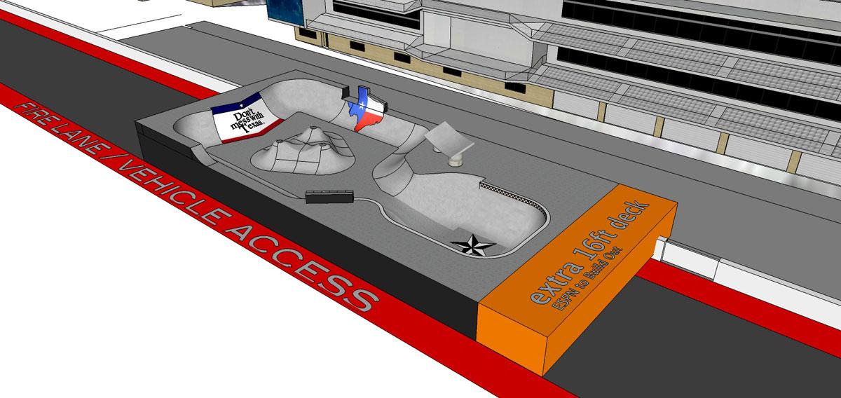 X Games 2014 Park Course Austin