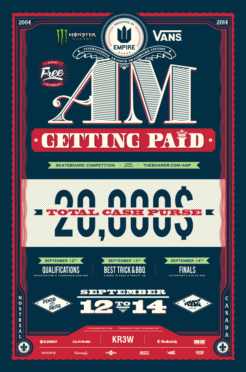 Am Getting Paid 2014 Skateboarding Contest