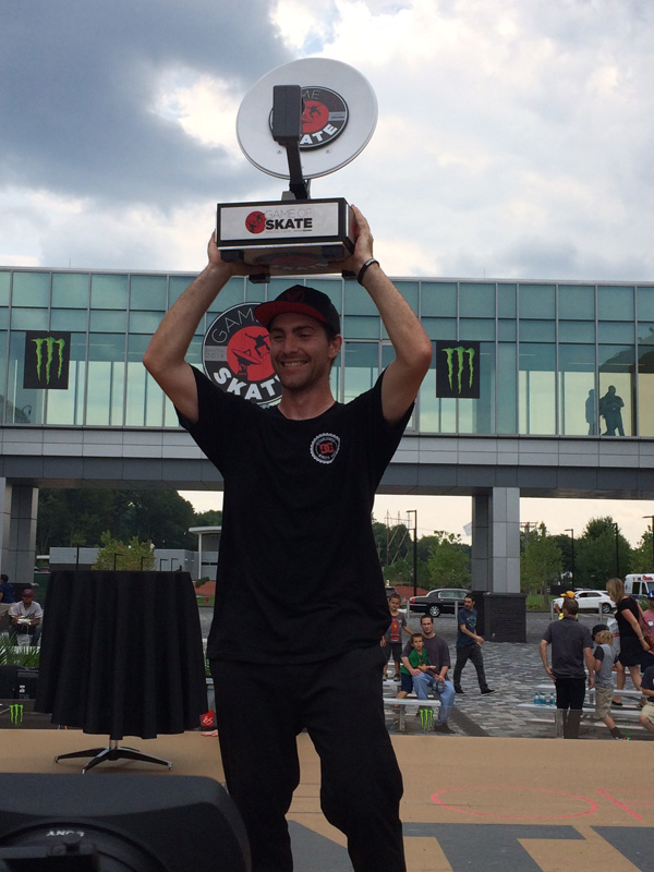 Mike Mo Capaldi Wins ESPN Game of Skate 2014