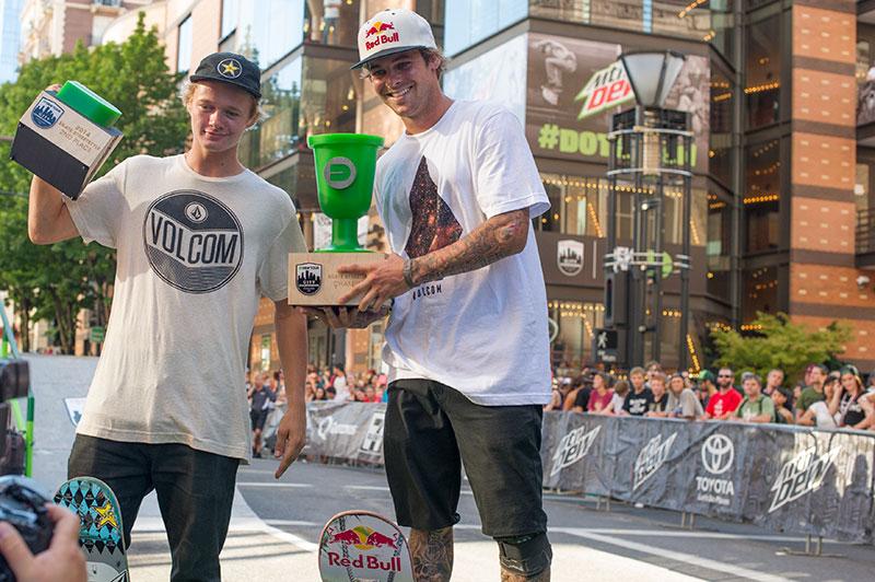 Ryan Sheckler Wins Dew Tour Portland