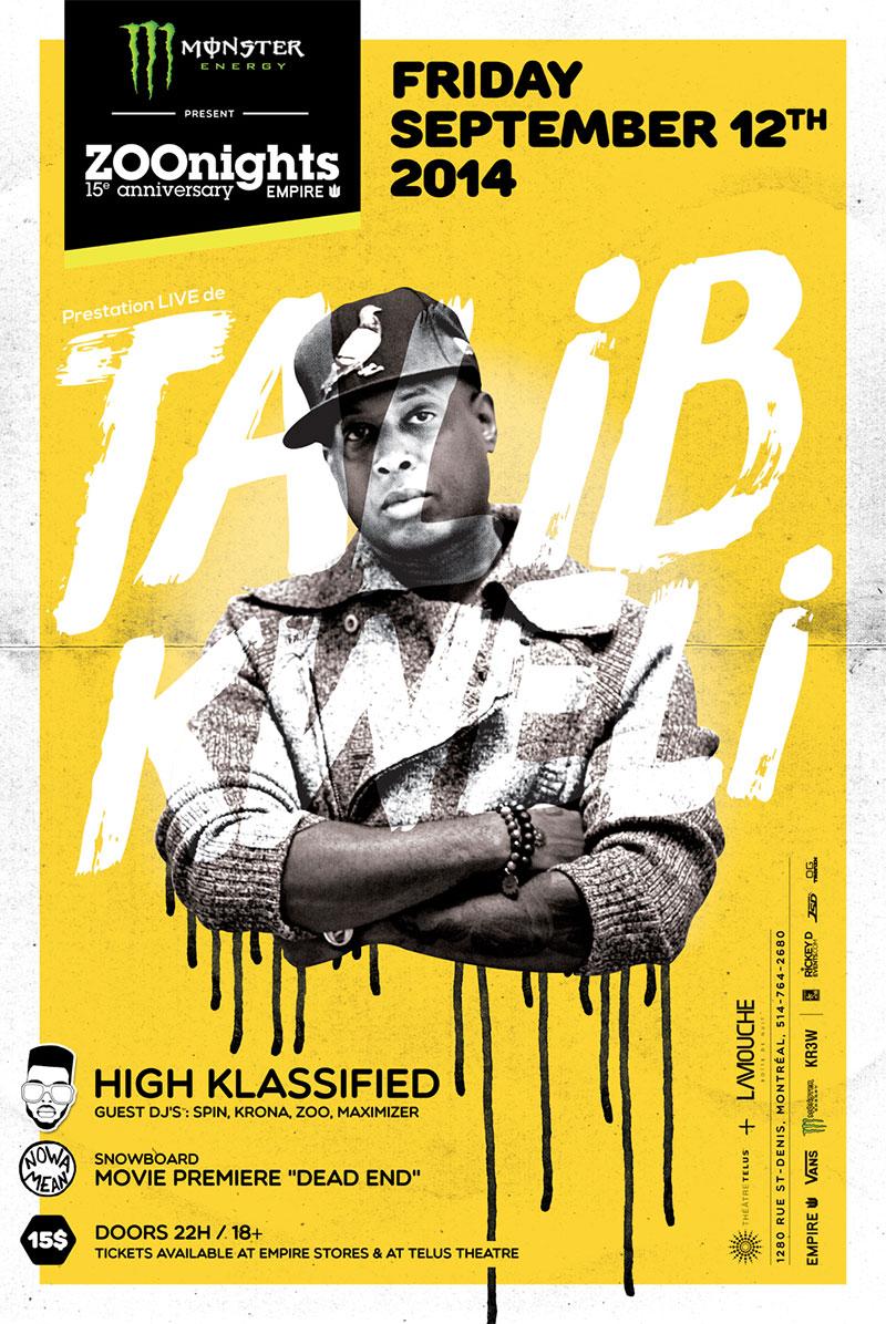 Talib Kweli at Am Getting Paid
