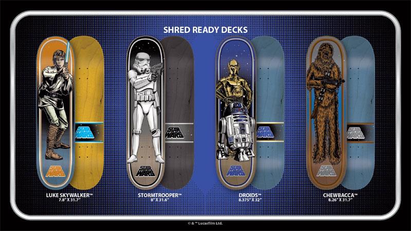 Star Wars Santa Cruz Skateboards in Stock