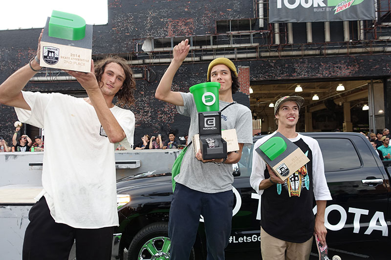 Trevor Colden Wins Dew Tour Streetstyle Brooklyn