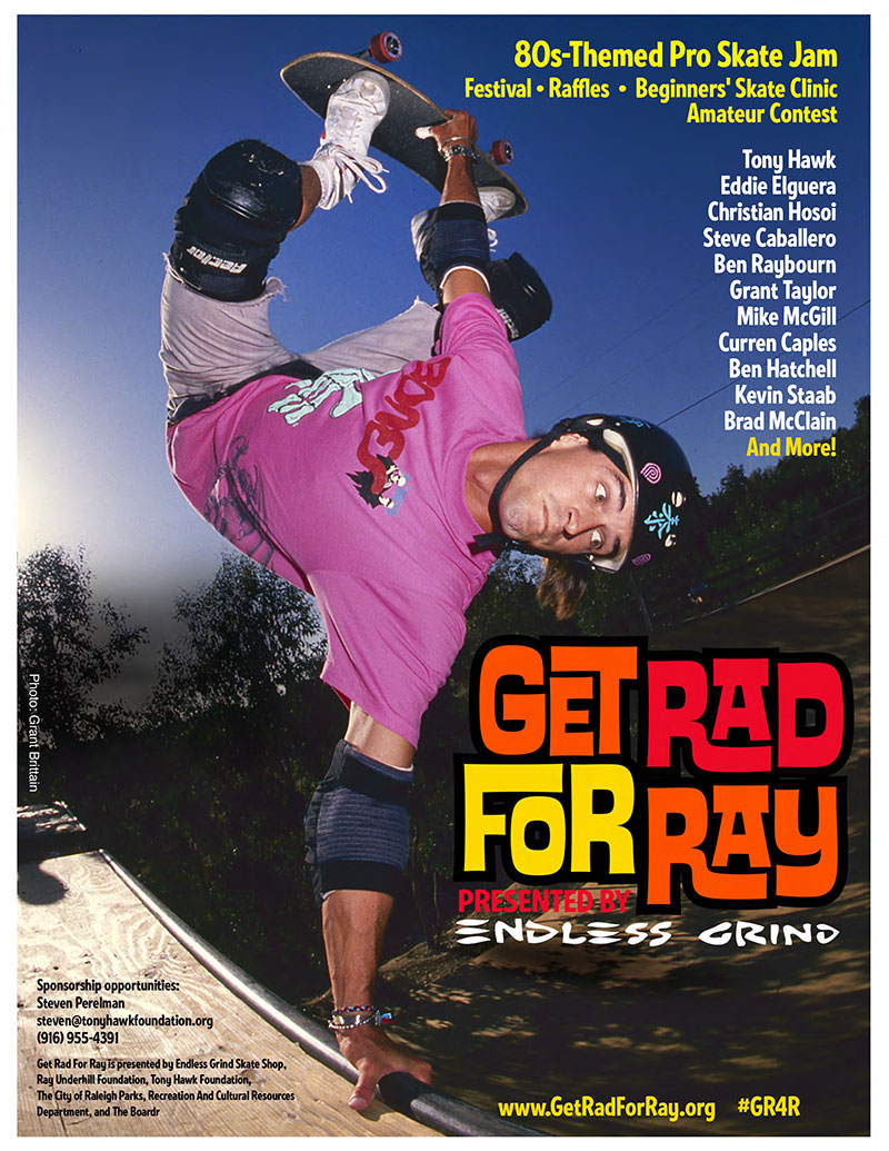 Get Rad for Ray Raleigh Tony Hawk Event