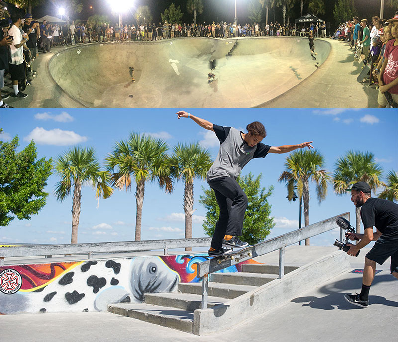 Grind for Life Bradenton Skateboarding Contest