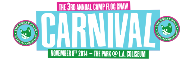 Camp Flog Gnaw Skateboarding Contest 2014