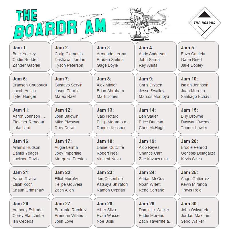 The Boardr Amateur Skateboarding Contest