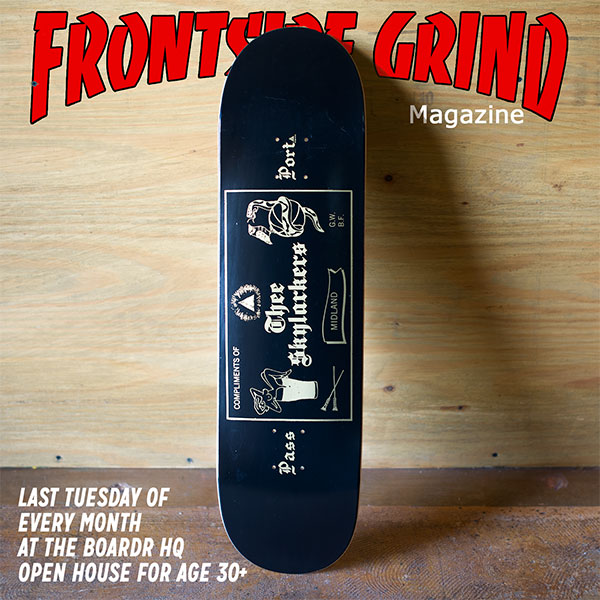 Frontside Grind Tuesdays PASS~PORT