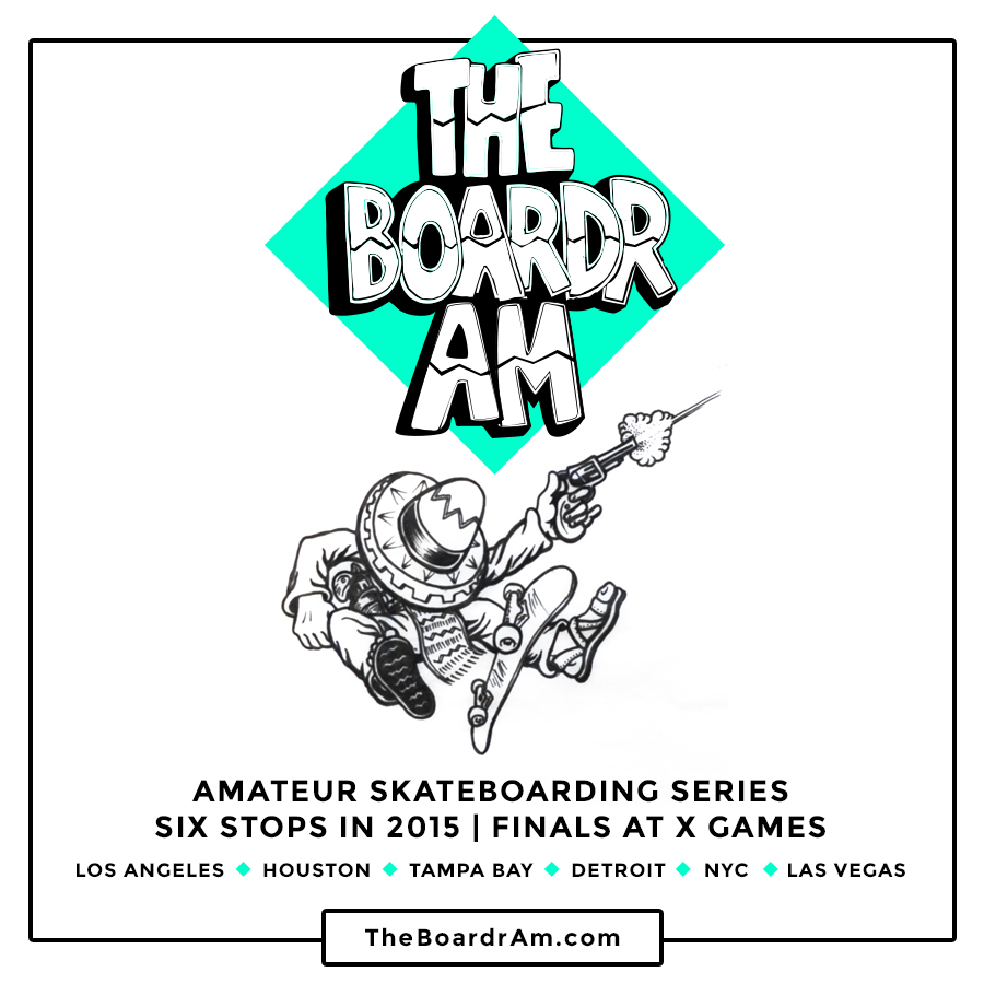 The Boardr Amateur Skateboarding Contest Series