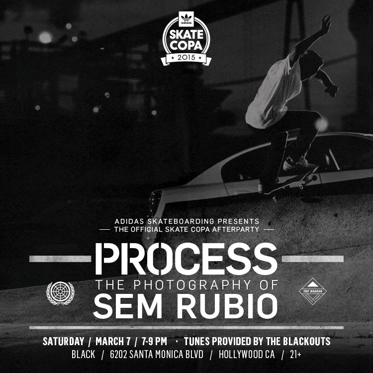 Process the Photography of Sem Rubio at Skate Copa