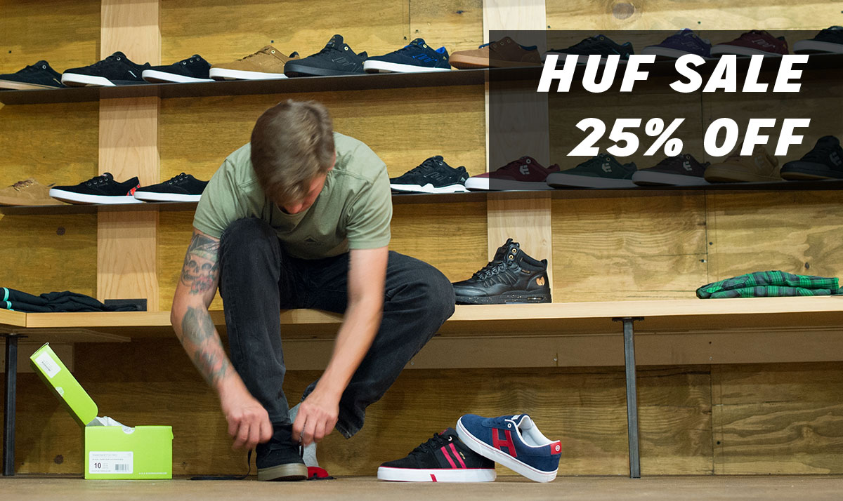 HUF Skateboarding Shoes on Sale