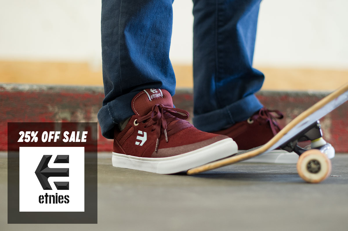 etnies on sale in The Boardr Store