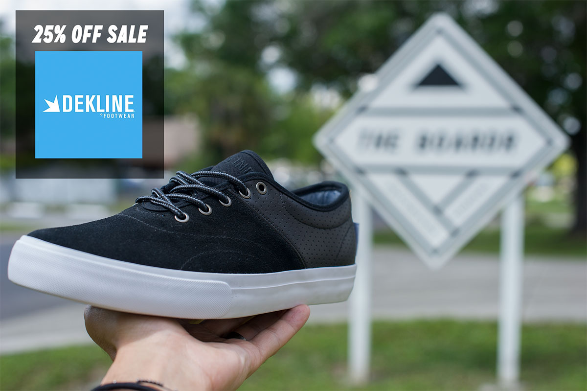 Dekline Shoes on Sale