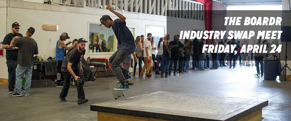 Skateboarding Trade Show Swap Meet in Florida