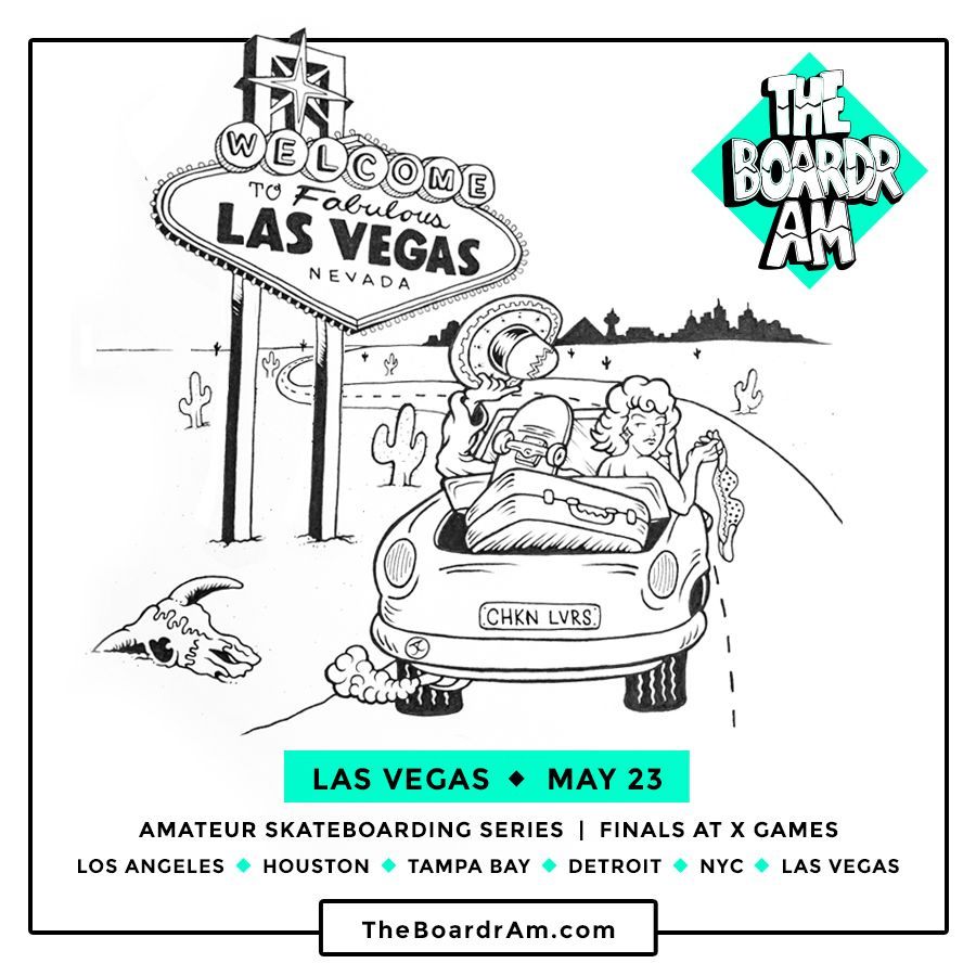 The Boardr Amateur Skateboarding Contest Las Vegas