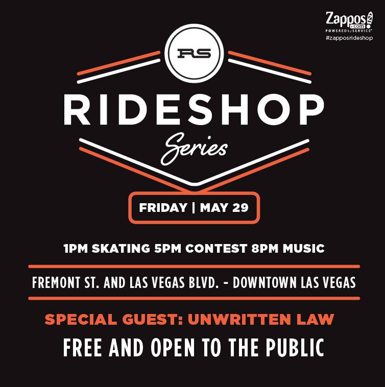 Zappos Rideshop Las Vegas 2015