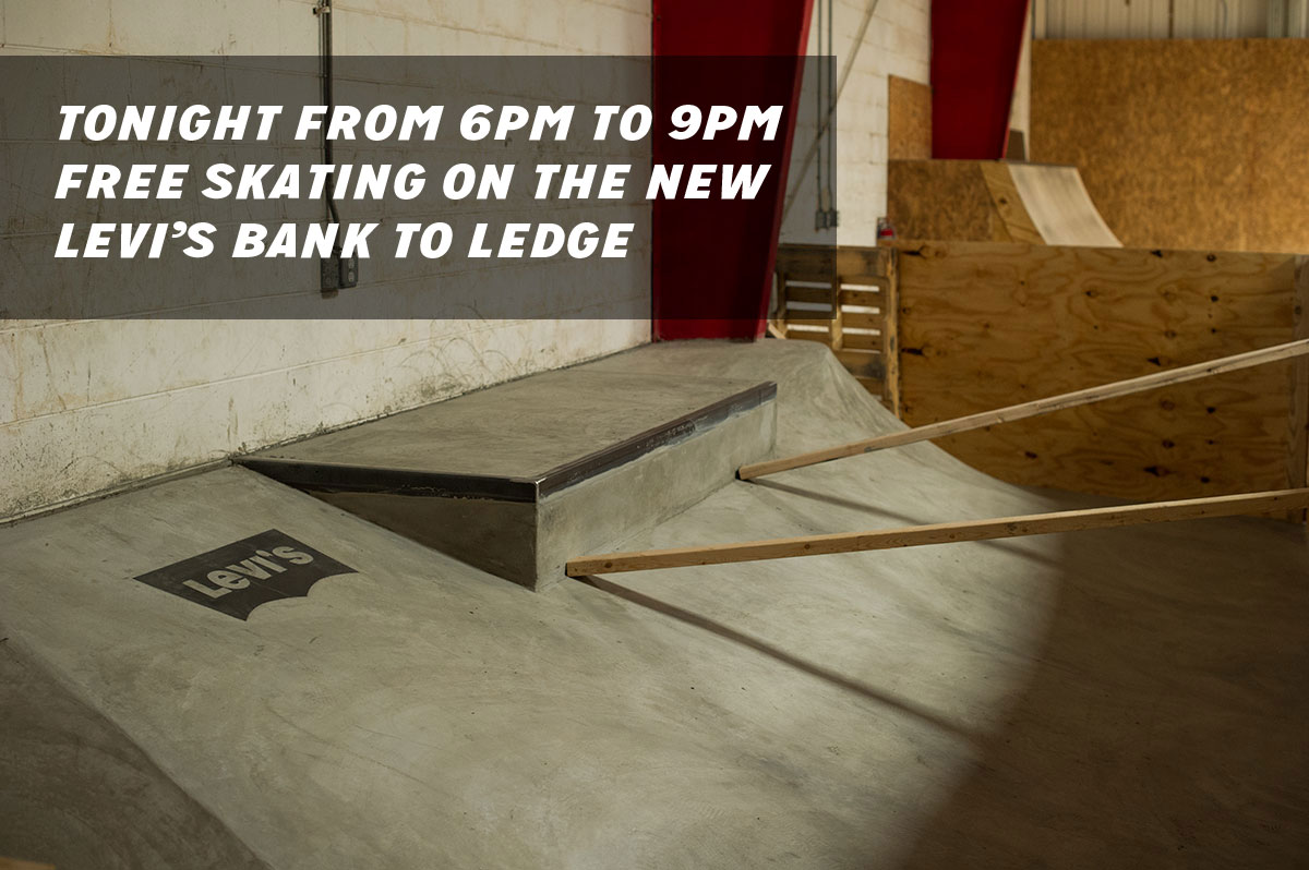 Free Skateboarding at The Boardr in Tampa, Levi's