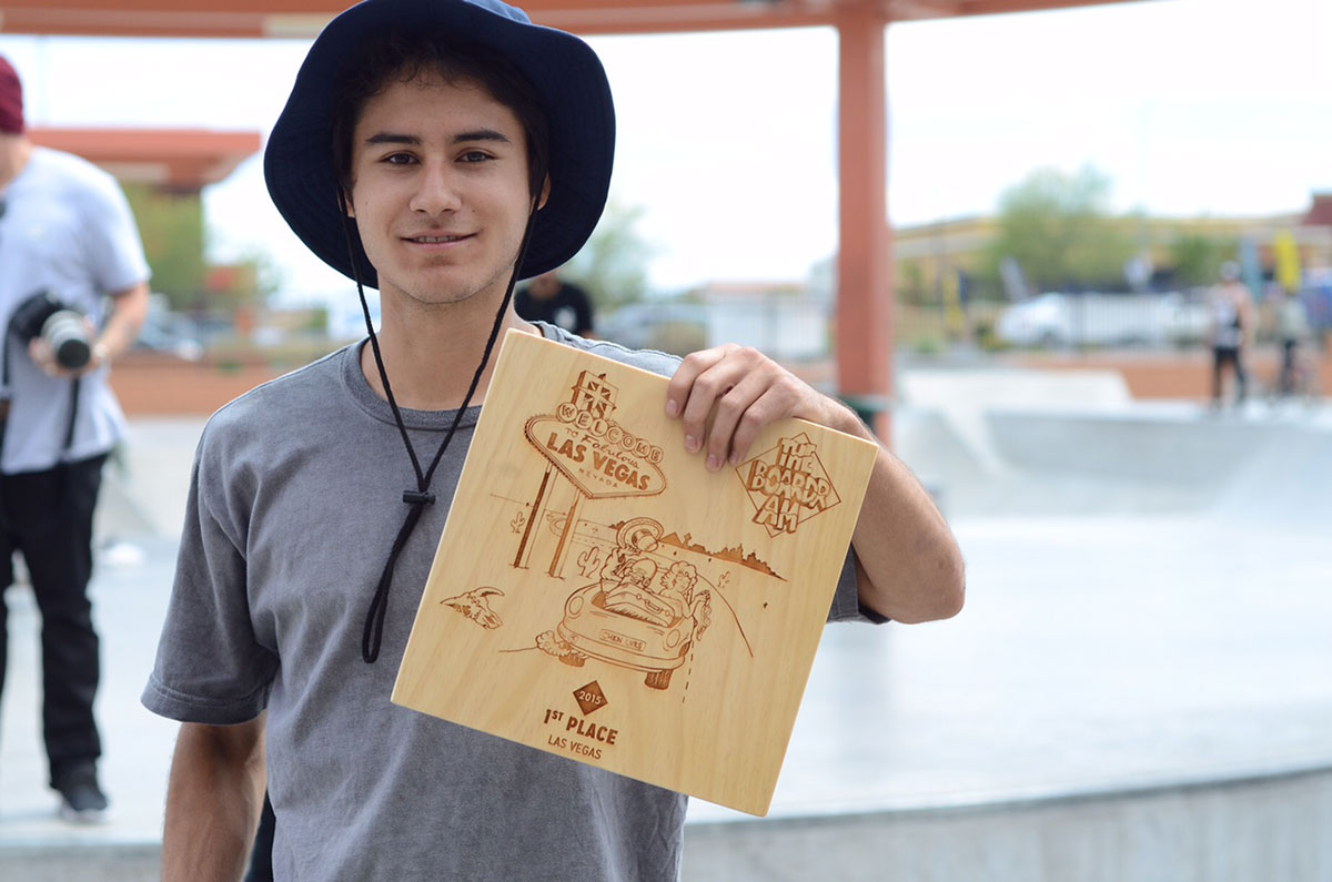 Enzo Wins The Boardr Am Las Vegas