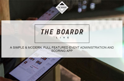 Live Scoring and Event Administration App Software