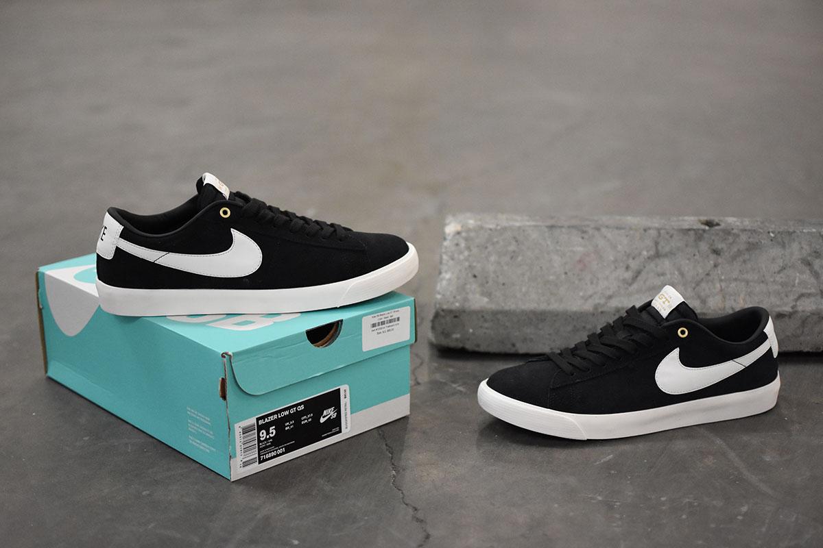 Nike SB Blazer Low GT Black, Sail Grant Taylor