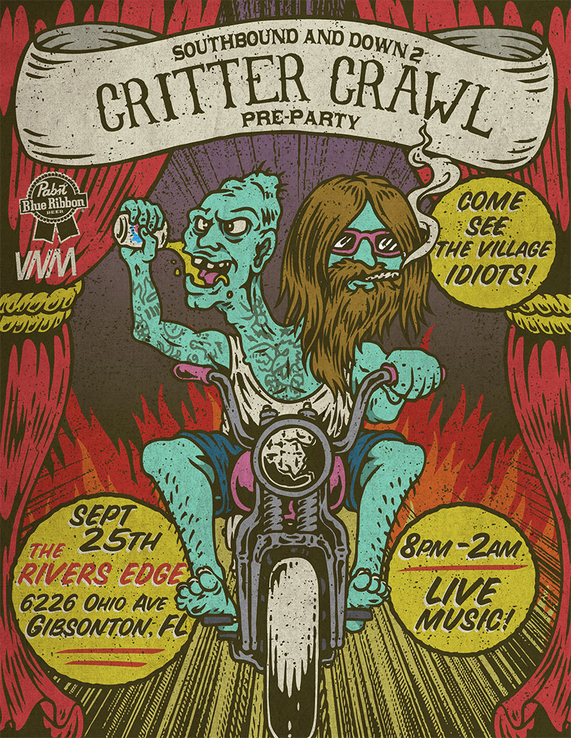 Critter Crawl Southbound and Down Pre Party