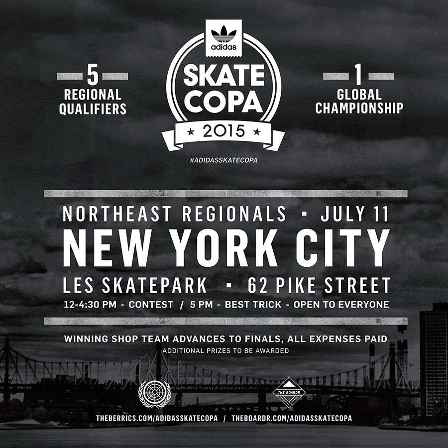 adidas Skate Copa New York City