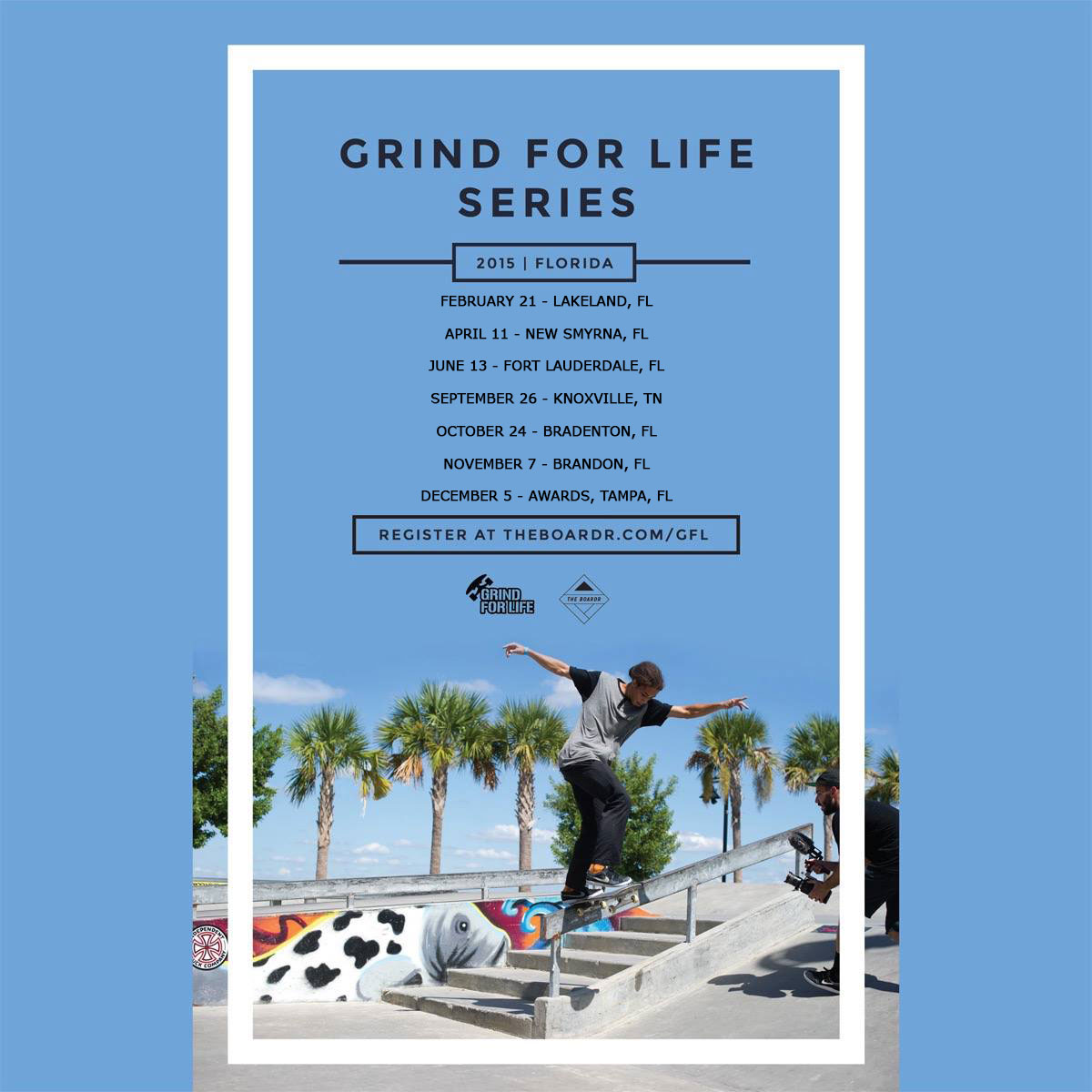 Grind for Life Florida Skateboarding Series