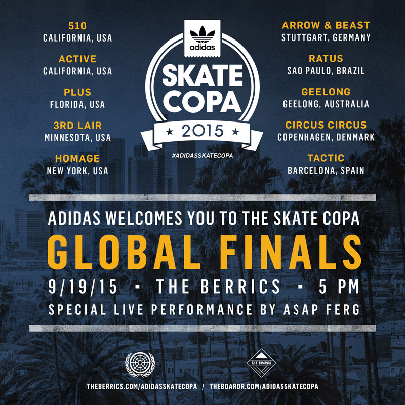 adidas Skate Copa Global Finals 2015 Los Angeles