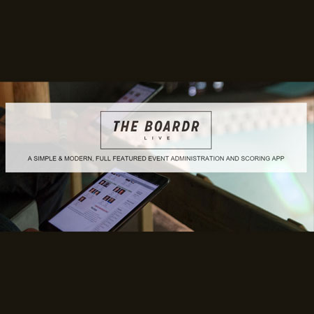 The Boardr Live, Instant Scoring Software for Action Sports Competitions