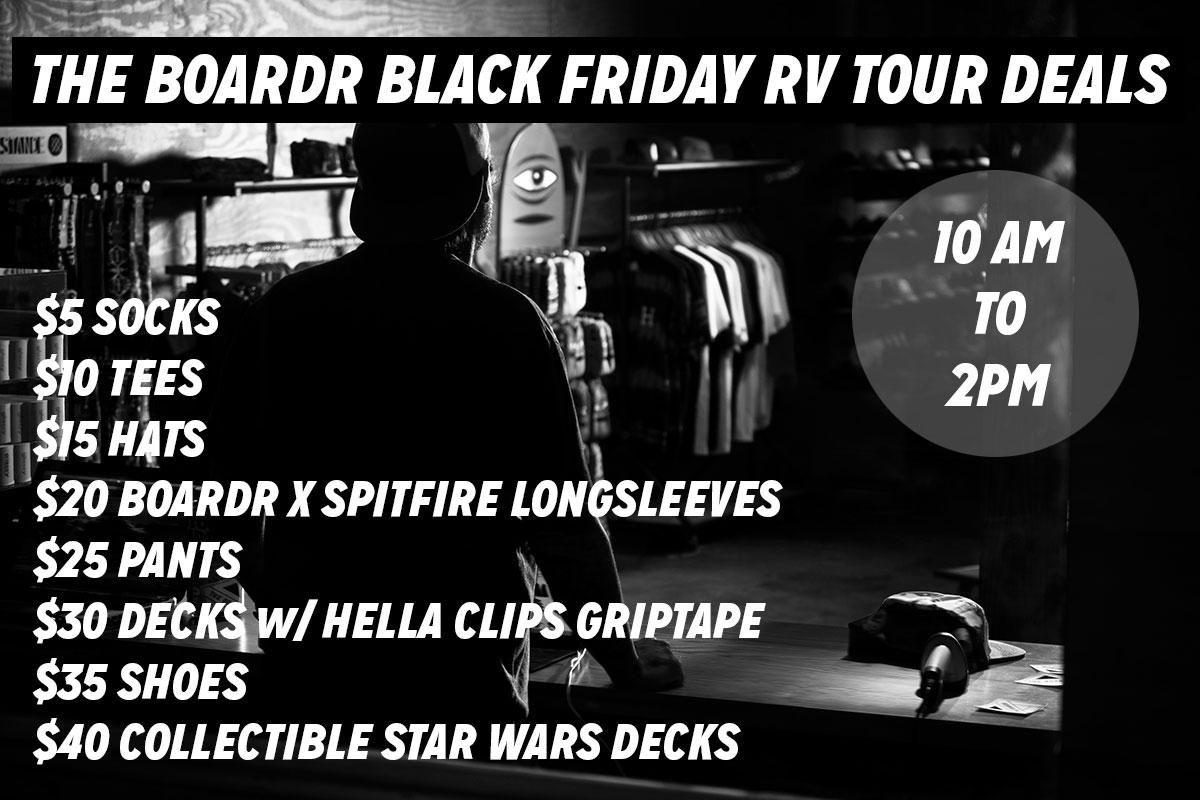 Black Friday Deals at The Boardr