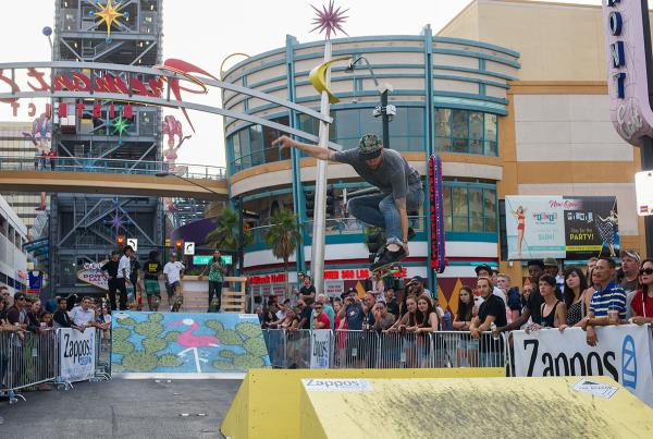 Jamie Thomas at Zappos Rideshop Series