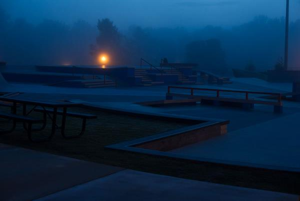 Creepy Kennesaw Skatepark at Skate Copa Atlanta