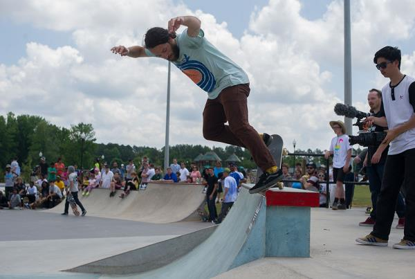 Matt Sharer at Skate Copa Atlanta