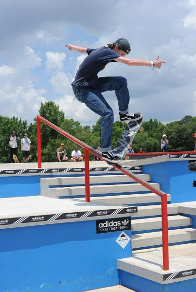 Eli Williams at Skate Copa Atlanta