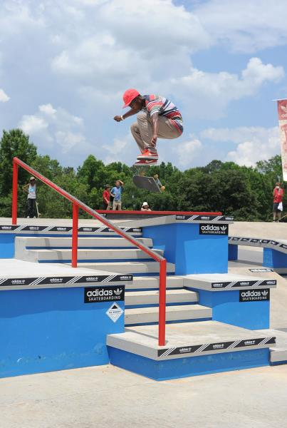James Cobb Fakie Flip at Skate Copa Atlanta