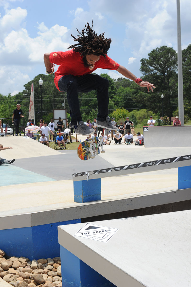 9ea3844f52ded0 Anthony Williams at adidas Skate Copa