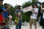 Garrett Young Special Award at Skate Copa Austin. Garrett Young Photo
