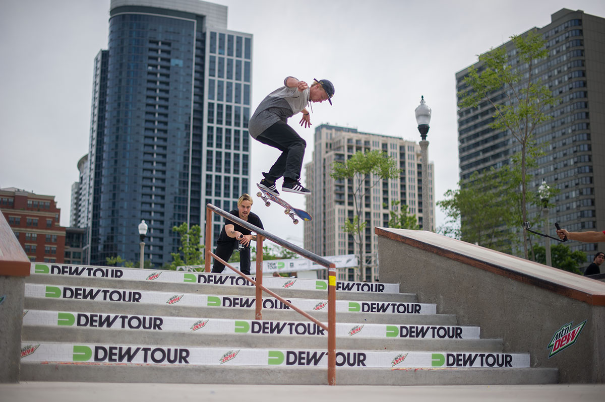 The Dew Tour Chicago