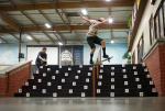 Switch Noseblunt at adidas Skate Copa Global Finals 2015. Tanner VanVark Photo