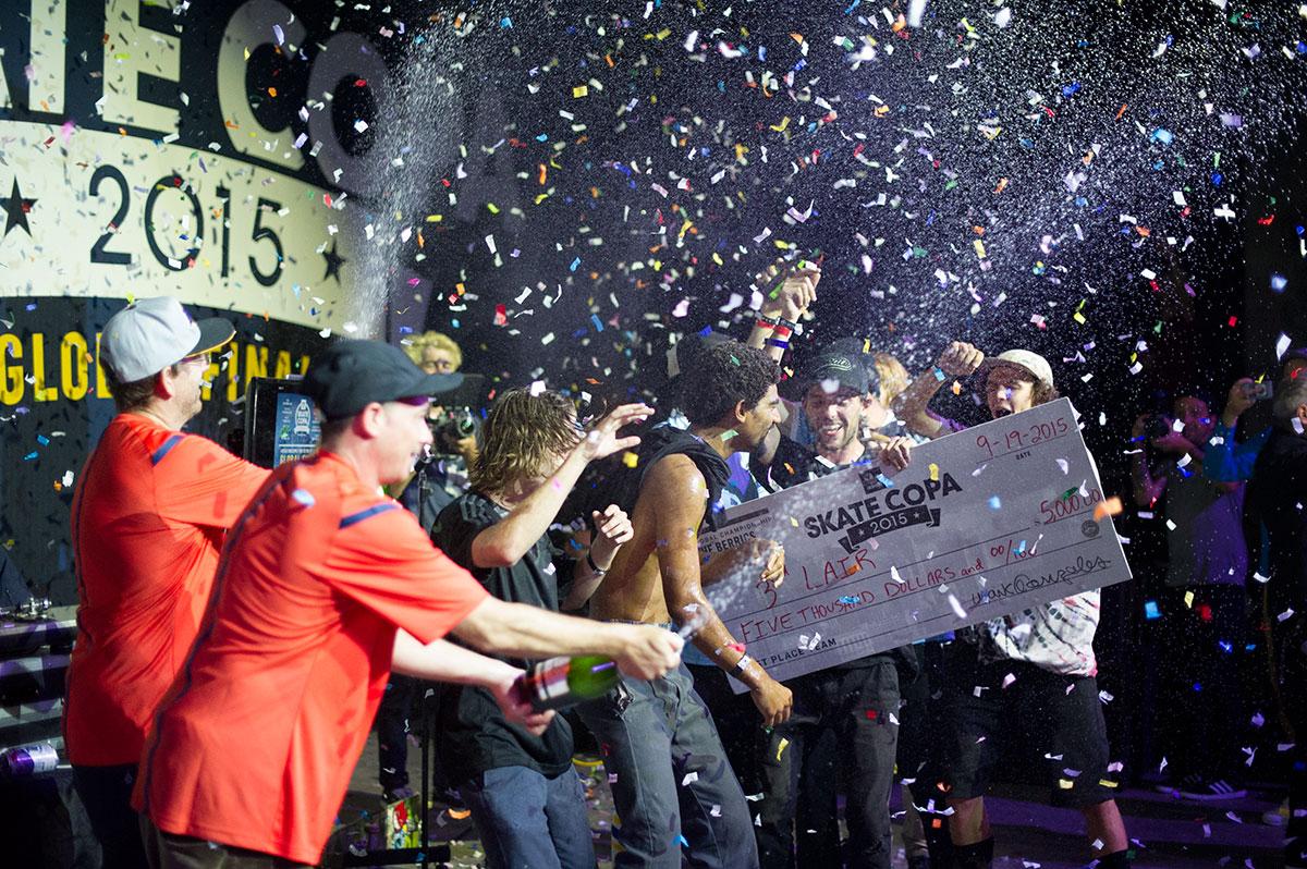 Tercera Skate Guarida gana en adidas Finals Skate Copa Global Finals Global 2015, The Boardr d8e1a4f - sfitness.xyz