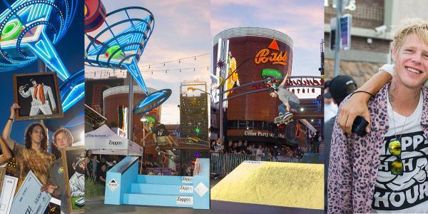 Zappos Rideshop in Las Vegas
