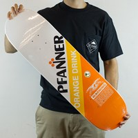 $50.00 Anti Hero Chris Pfanner Orange Drink Deck